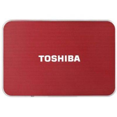 Внешний жесткий диск Toshiba 500GB stor.E edition - ce - red PA3962E-1E0R