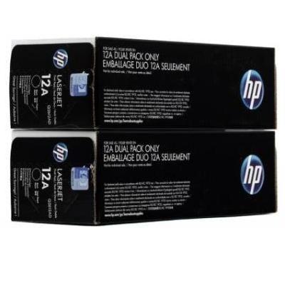 �����-�������� HP 12A Black/������ (Q2612AF)