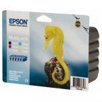 Картридж Epson Набор 6 шт Black/Cyan/Magenta/Yellow - Черный/Голубой/Пурпурный/Желтый (C13T04874010)