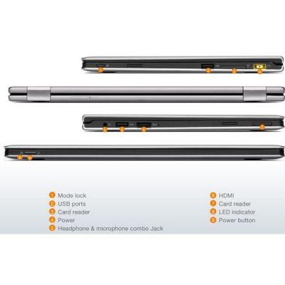 Ноутбук Lenovo IdeaPad Yoga 11 Silver Grey 59345602 (59-345602)