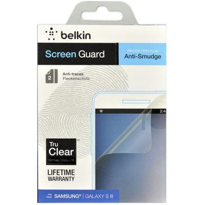 Защитная пленка Belkin для Samsung Galaxy S3 (анти-пятно) F8N848cw2