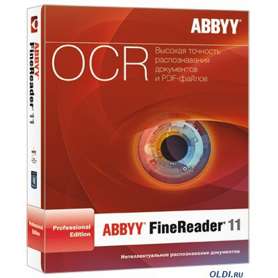 Программное обеспечение ABBYY FineReader 11 Professional Edition box AF10-1S1B01-102