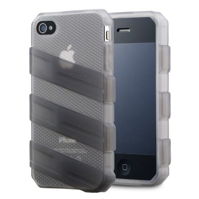 ����� Cooler Master ��� iPhone 4/4S Translucent Gray C-IF4C-HFCW-3A