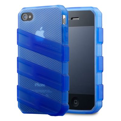 Чехол Cooler Master для iPhone 4/4S Translucent Blue C-IF4C-HFCW-3B