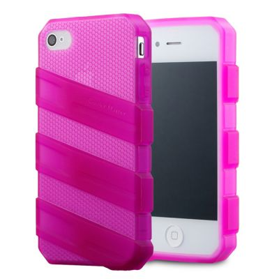 Чехол Cooler Master для iPhone 4/4S Translucent Pink C-IF4C-HFCW-3N
