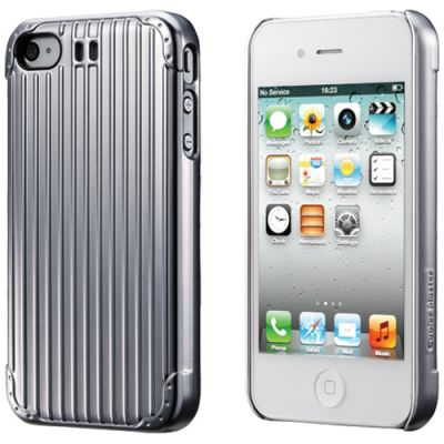 Чехол Cooler Master для iPhone 4/4S Traveler Suitcase Silver C-IF4C-SCTV-1S
