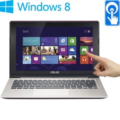 Ноутбук ASUS VivoBook S200E Metallic Grey 90NFQT424W13125813AU