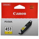 Картридж Canon 6526B001 Yellow/Жёлтый (CLI-451Y)