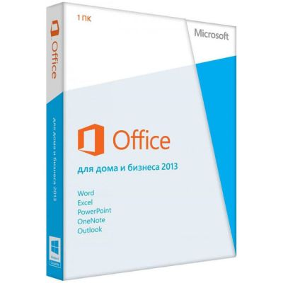 Программное обеспечение Microsoft Office Home and Business 2013 32/64 Russian Russia Only em DVD No Skype T5D-01763