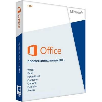 ����������� ����������� Microsoft Office Pro 2013 32-bit/x64 Russian Only em DVD No Skype 269-16355