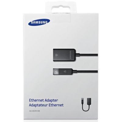 Кабель Samsung переходник Ethernet (LAN) цвет черный напряжение 5 В (9 серия) AA-AE2N12B