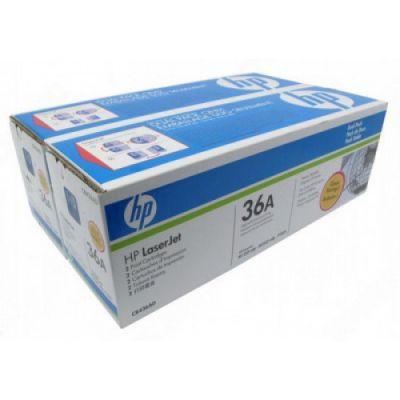 Картридж HP Black/Черный (CB436AF)