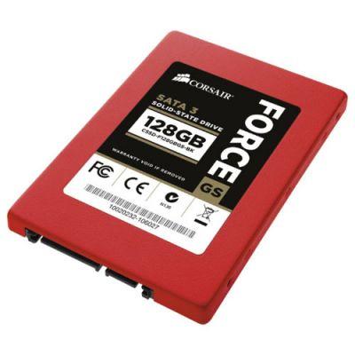 """SSD-диск Corsair SSD 2,5"""" SATA-III 128 gb Drive Force Series gt CSSD-F128GBGS-BK"""