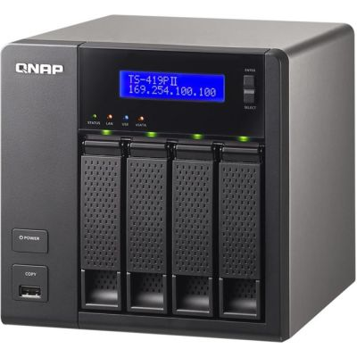Сетевое хранилище QNAP TS-419PII
