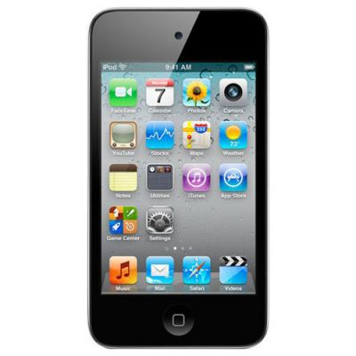 Аудиоплеер Apple iPod touch 4 16Gb Black ME178RP/A