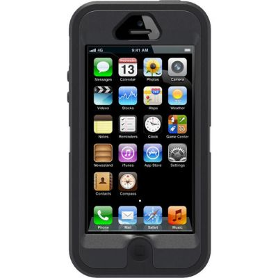 Чехол OtterBox Defender f Apple iPhone 5 Black 77-23332_B
