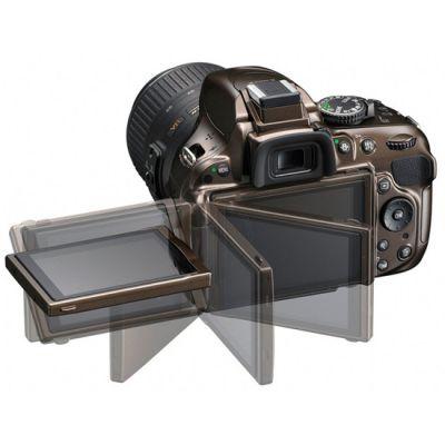 Зеркальный фотоаппарат Nikon D5200 Body Bronze [VBA352AE]