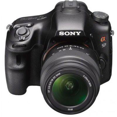 Зеркальный фотоаппарат Sony Alpha SLT-A57 Kit DT 18-55 mm F3,5-5,6 (ГТ Sony)