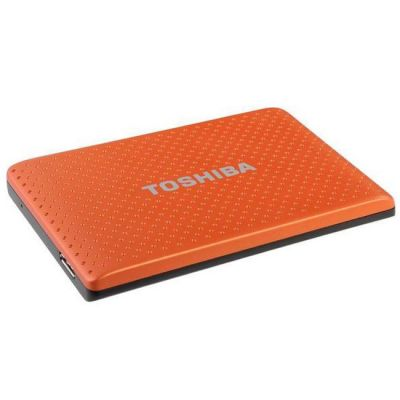 Внешний жесткий диск Toshiba 500GB stor.E partner Orange PA4274E-1HE0