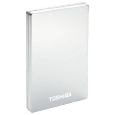 Внешний жесткий диск Toshiba 750GB stor.E alu 2S silver PA4238E-1HG5