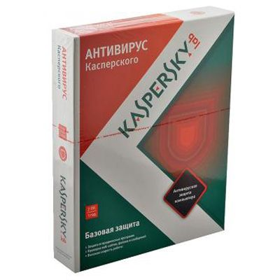 Антивирус Kaspersky Anti-Virus 2013 Russian Edition. 2-Desktop 1 year Base Box KL1149RBBFS