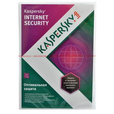 Kaspersky Internet Security 2013 Russian Edition. 2-Desktop 1 year Base DVD box KL1849RXBFS