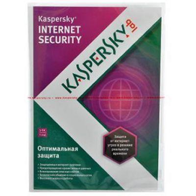 Kaspersky Internet Security 2013 Russian Edition. 5-Desktop 1 year Base DVD box KL1849RXEFS
