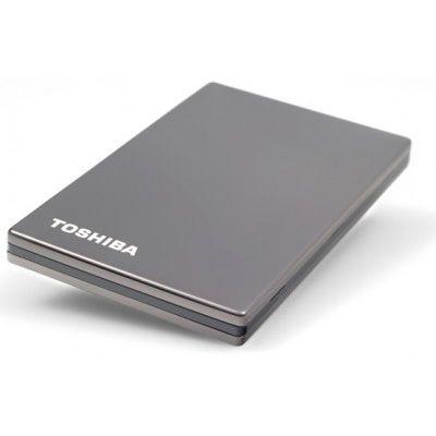 Внешний жесткий диск Toshiba 750GB stor.E steel S titanium PX1810E-1G5R