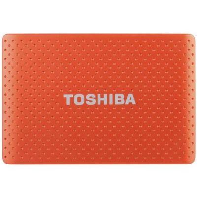 Внешний жесткий диск Toshiba 750GB stor.E partner Orange PA4279E-1HG5