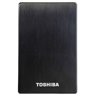 Внешний жесткий диск Toshiba 1000GB stor.E alu 2S Black PA4265E-1HJ0