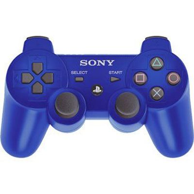 Sony Беспроводной контроллер PS3 Dualshock Blue PS719256434