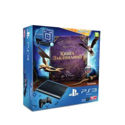 Игровая приставка Sony PlayStation3 12GB игра «Книга Заклинаний» + Камера ps Eye + Контроллер движений ps Move + WonderBook PS719210054