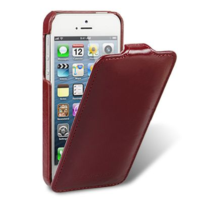 Чехол Melkco для Apple iPhone 5 - Jacka Type красный (APIPO5LCJT1RDLC)