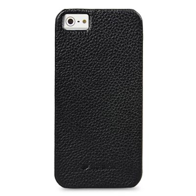 Чехол Melkco Snap Cover для Apple iPhone 5 чёрный (APIPO5LOLT1BKLC)