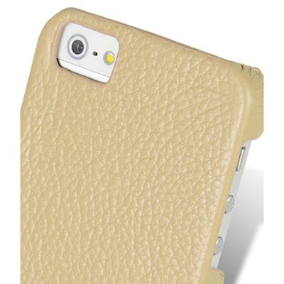 Чехол Melkco Snap Cover для Apple iPhone 5 фисташковый (APIPO5LOLT1KILC)