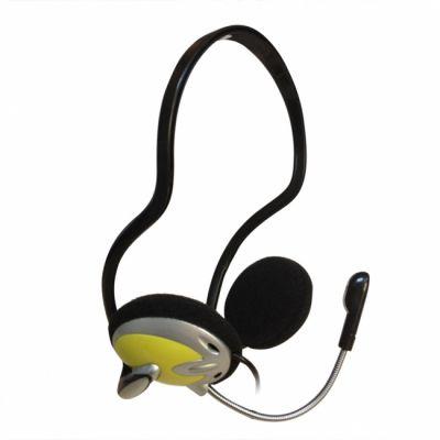 Наушники с микрофоном CBR chp 311M Yellow