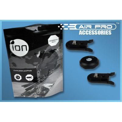 ION CamLock & Podz Kit (Набор: - клипса-фиксатор 2 шт - базовая крышка 1 шт)