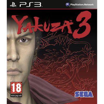 Игра для Sony Playstation Yakuza 3 (англ. версия)