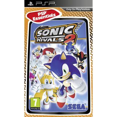Игра для Sony Playstation Sonic Rivals 2 (Essentials)(английская версия)