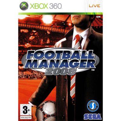 Игра для Xbox 360 Football Manager 2008