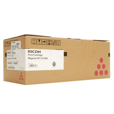 Картридж Ricoh SPC310HE Magenta/Пурпурный (407636)