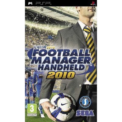 Игра для Sony Playstation Football Manager 2010 handheld