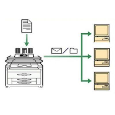 Опция устройства печати Ricoh Опция для отделения сканера тип 7140 406304