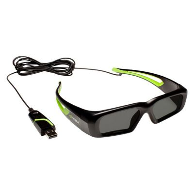 Очки nVidia GeForce 3D Vision USB kit