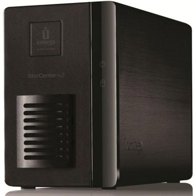 Сетевое хранилище Iomega 35551 ix2 Network Storage 4TB (2HD X 2TB)