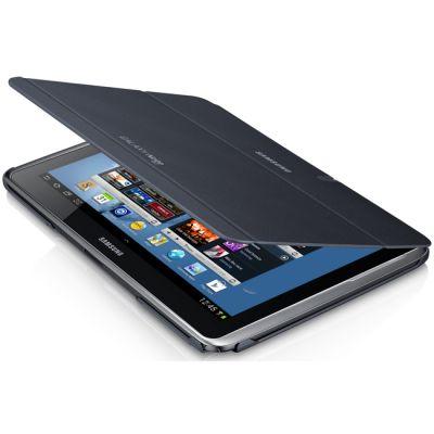 Чехол Samsung для Galaxy Note 10.1 N8000 тем.сер (книжка) EFC-1G2NGECSTD