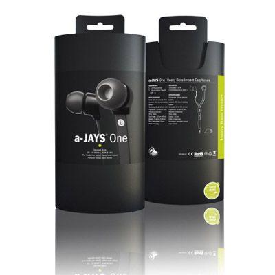 Наушники Jays A-Jays One - черные T00072