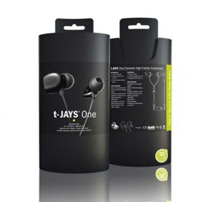 Наушники Jays T-Jays One - черные T00076