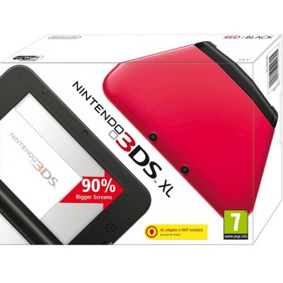 ������� ��������� Nintendo 3DS XL HW(Black + Red)