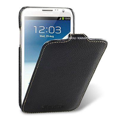 Чехол Melkco Premium Leather Case для Samsung Galaxy Note 2 - черный (SSNO71LCJT1BKLC)